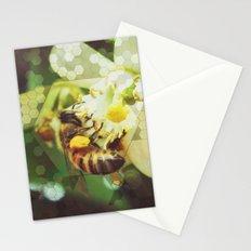 Honey Bee: Emerald Stationery Cards