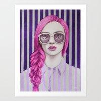 Close Up 11 Art Print