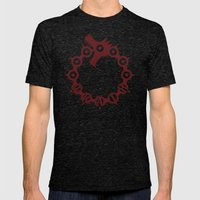 The Dragon's Sin of Wrath Mens Fitted Tee Tri-Black SMALL