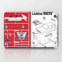 Lancia Delta History Mod… iPad Case