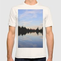 Salmon Lake Mens Fitted Tee Natural SMALL