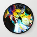 Vivid Reflections Wall Clock