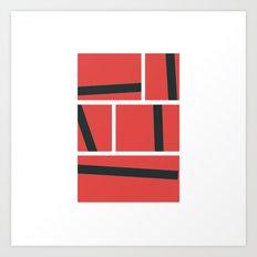 #428 Graphic novel – Geometry Daily Art Print