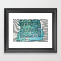 Mosaik 1.2 Framed Art Print