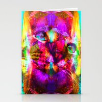 Crystal Cat - Sir Parker Stationery Cards