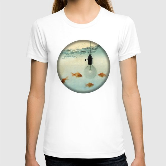 Fishing for ideas T-shirt