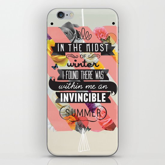 The Invincible Summer iPhone & iPod Skin