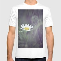 Miss Daisy Mens Fitted Tee White SMALL