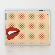 Pop art lips Laptop & iPad Skin