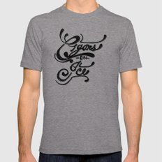 Cigars On Ice Mens Fitted Tee Tri-Grey SMALL
