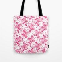 Pink Fantasy Digital Painting Tote Bag