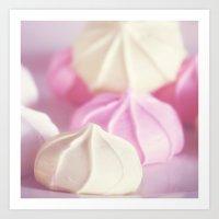 meringues Art Print