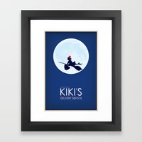 Kiki's Delivery Service … Framed Art Print