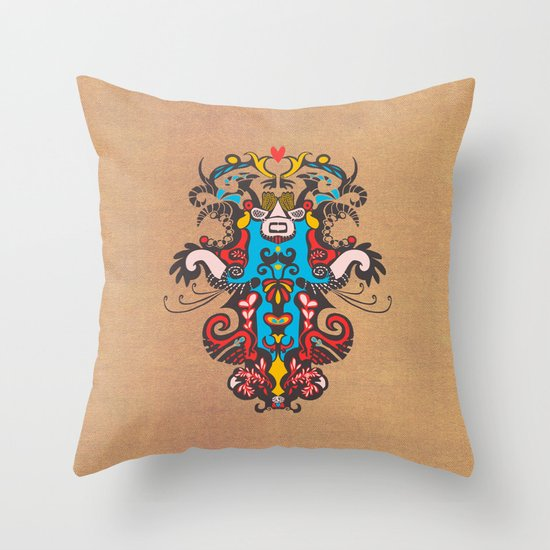 Harmony -1  Throw Pillow