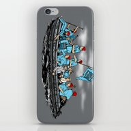 iPhone & iPod Skin featuring Team Zissou Crossing The… by Tom Ledin