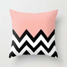 CORA COLORBLOCK CHEVRON  Throw Pillow