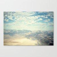 Death Valley Cloud Shado… Canvas Print