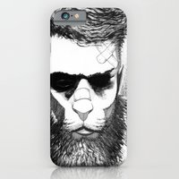 iPhone & iPod Case featuring Lion man by Art is Vast