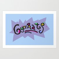 GymRats Art Print