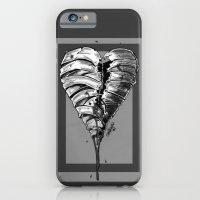 Razor Blade Romance (Black and White Version) iPhone 6 Slim Case