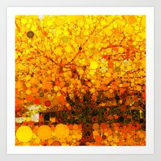 :: It Was All Yellow :: Art Print