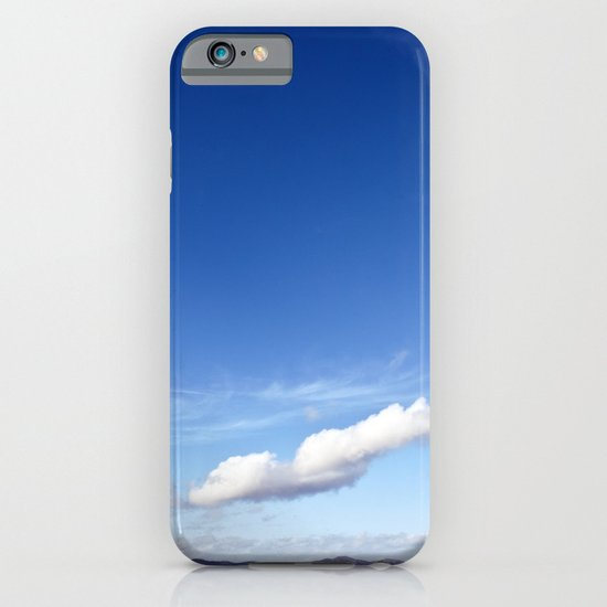 with a sky blue sky... iPhone & iPod Case