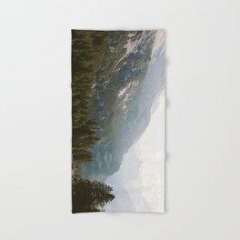 Hand & Bath Towel - A Switzerland Mountain Valley - Landscape Photography - regnumsaturni
