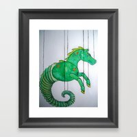 The Puppets 1 Framed Art Print