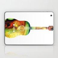 Acoustic Guitar - Colorf… Laptop & iPad Skin