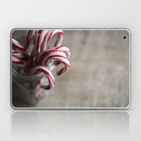 Rustic Candy Canes - Chr… Laptop & iPad Skin