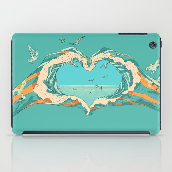 My Heart & The sea  iPad Case