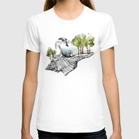 Daydream Island Womens Fitted Tee White SMALL
