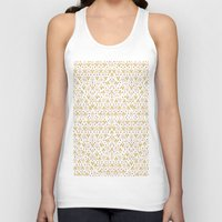 Geometric Diamond Repeat… Unisex Tank Top