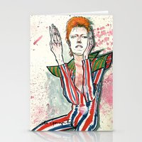 Schiele's Bowie Stationery Cards