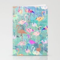 Flamingo Party  Stationery Cards