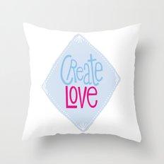Create Love Throw Pillow