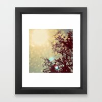 Golden Sky Framed Art Print