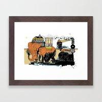 Oiliphants Framed Art Print
