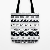 Tribal Pattern Tote Bag