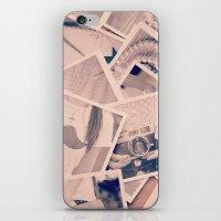 Faded Memories  iPhone & iPod Skin