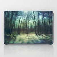Winter lake iPad Case