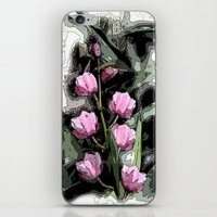 Vintage Orchids  iPhone & iPod Skin