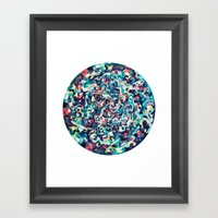 I Love Everything About … Framed Art Print