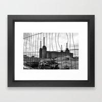 BATTERSEA POWER STATION … Framed Art Print