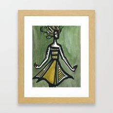 The Spin Framed Art Print