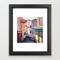 Villas Framed Art Print