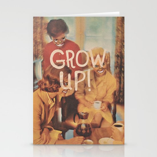 GROW UP! Stationery Card
