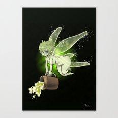 La Fée Bière / Fairy Beer Canvas Print