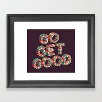 Go Get It. Framed Art Print