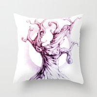 MusicTree Throw Pillow